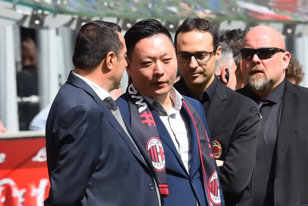 The arrival of David Han Li is set to kickstart a period of transformation at AC Milan. (Photo courtesy - Giuseppe Cacace/AFP/Getty Images)