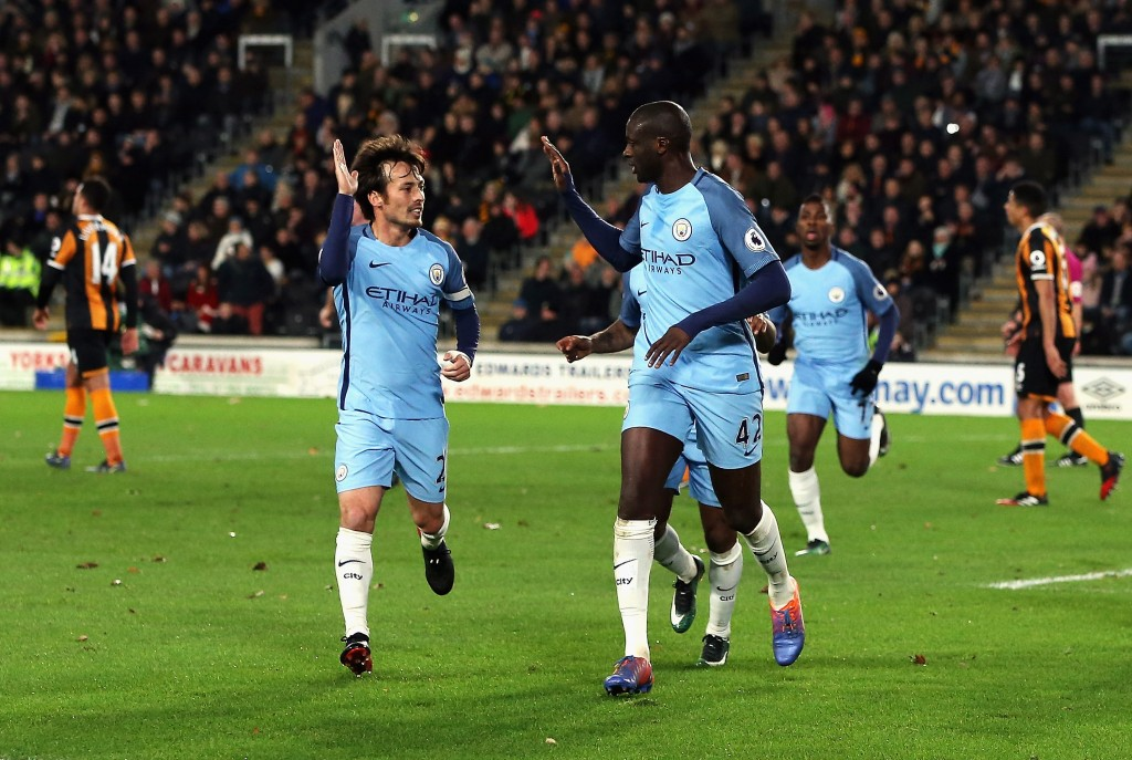 Yaya Toure led Manchester City to a 3-0 win over Hull in the reverse fixture. (Photo courtesy - Nigel Roddis/Getty Images)