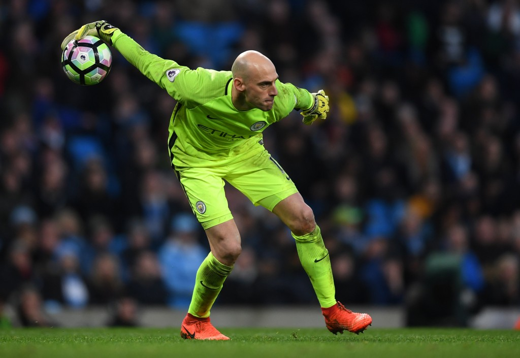 Caballero the key for City. (Picture Courtesy - AFP/Getty Images)