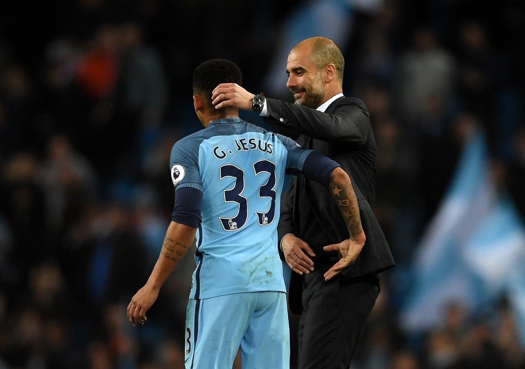 Jesus has a fan in Guardiola. (Photo courtesy - Laurence Griffiths/Getty Images)