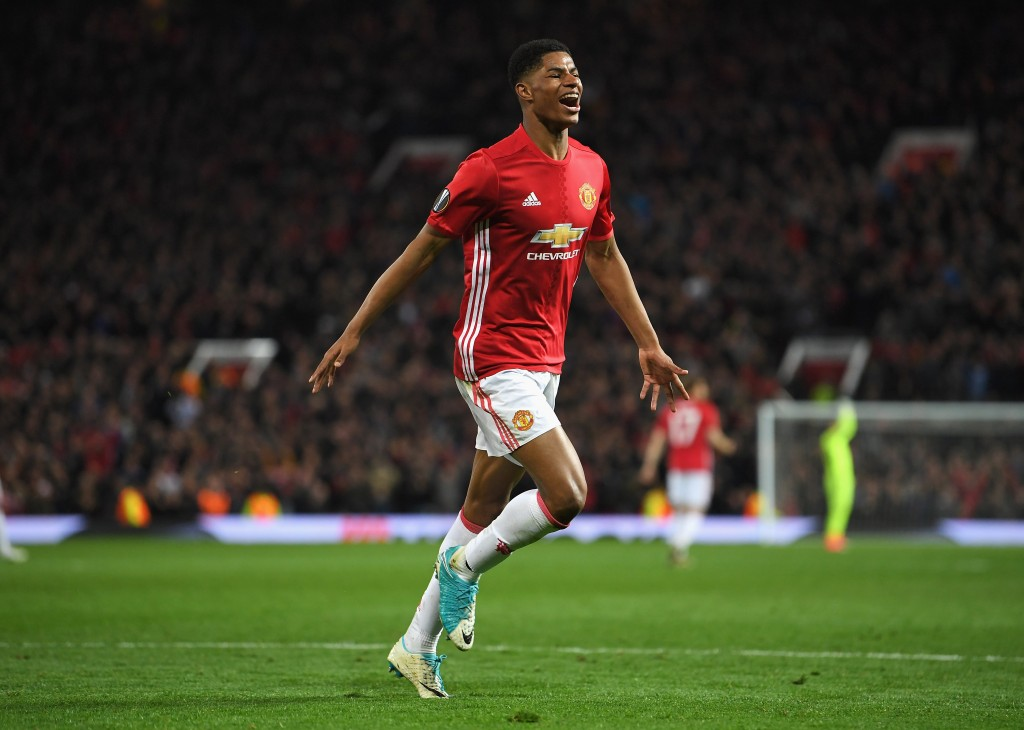 Marcus Rashford will be leading the Manchester United attack. (Photo courtesy - Laurence Griffiths/Getty Images)