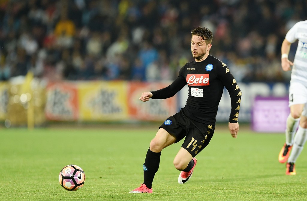 The interest in Mertens seems to be growing. (Photo courtesy - Francesco Pecoraro/Getty Images)