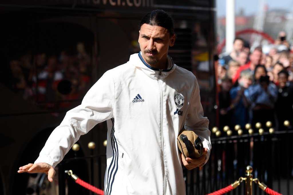 It's Zlatan Time... Again! (Photo by Stu Forster/Getty Images)