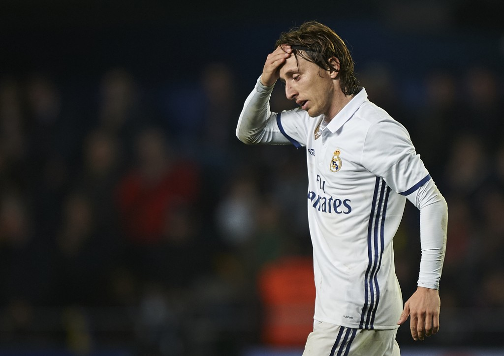 Will Modric leave Real Madrid in the summer? (Photo courtesy - Fotopress/Getty Images)