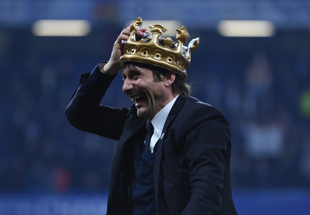 Antonio 'the Crowned' Conte. (Picture Courtesy - AFP/Getty Images)