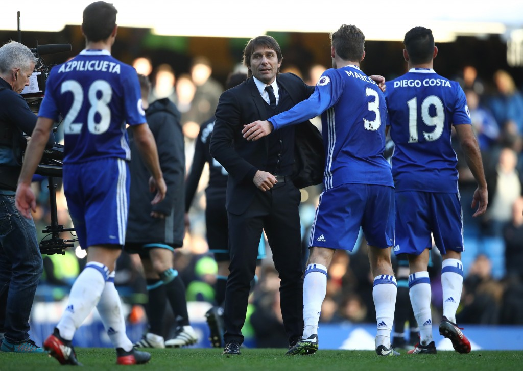 Will Chelsea celebrate winning the Premier League crown on Friday? (Photo courtesy - Julian Finney/Getty Images)
