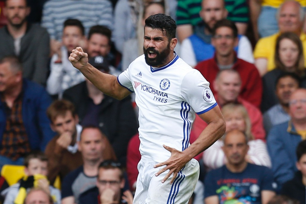 Diego Costa scored the all-important winner in the reverse fixture. (Photo courtesy - Ian Kington/AFP/Getty Images)