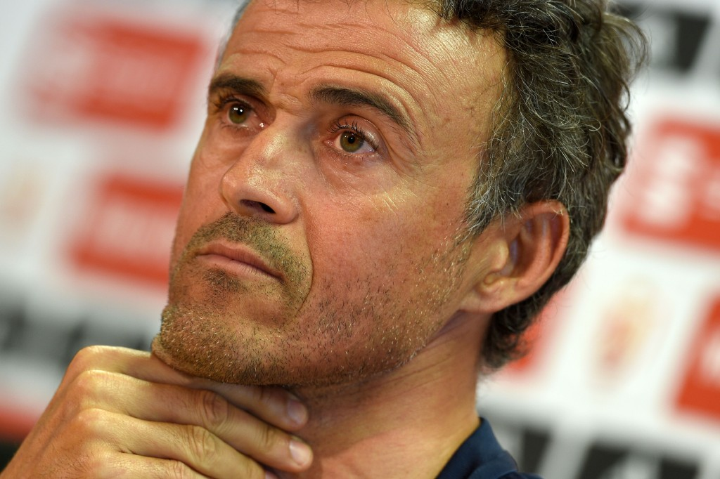 Can Luis Enrique bow out in style on Saturday? (Photo courtesy - Lluis Gene/AFP/Getty Images)