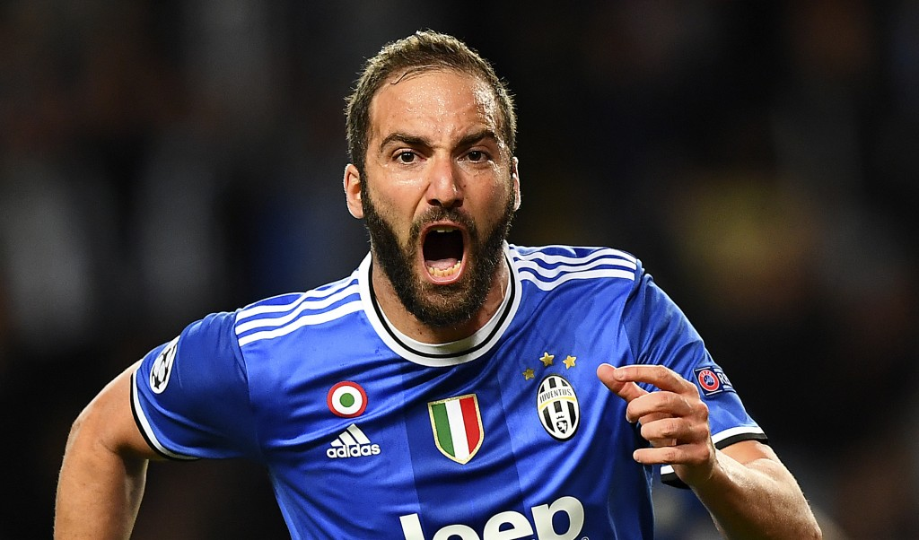 Higuain made the difference in the first leg with his brace. (Photo courtesy - Franck Fife/AFP/Getty Images)