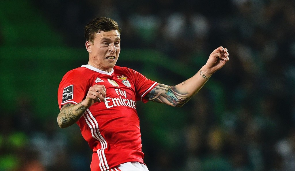 Lindelof is believed to have completed a deal to join Manchester United this summer. (Photo by PATRICIA DE MELO MOREIRA/AFP/Getty Images)