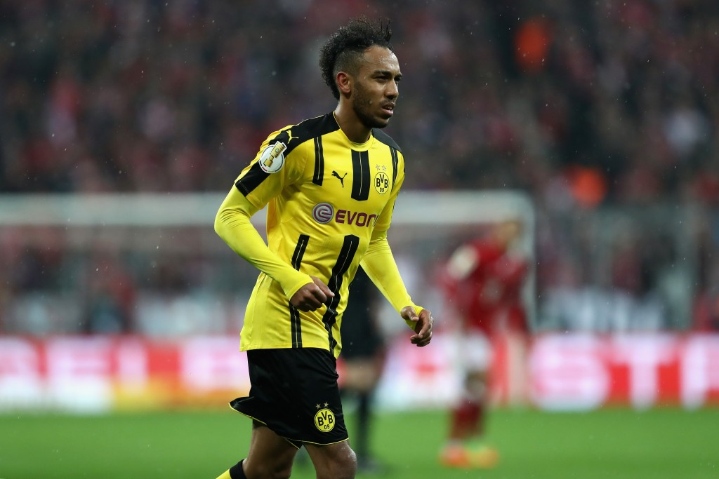 Pierre-Emerick Aubameyang may be playing his final game for Die Schwarzgelben on Saturday, (Photo courtesy - Alexander Hassenstein/Bongarts/Getty Images)