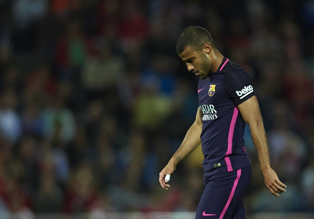 What next for Rafinha? (Photo courtesy - Aitor Alcalde/Getty Images)