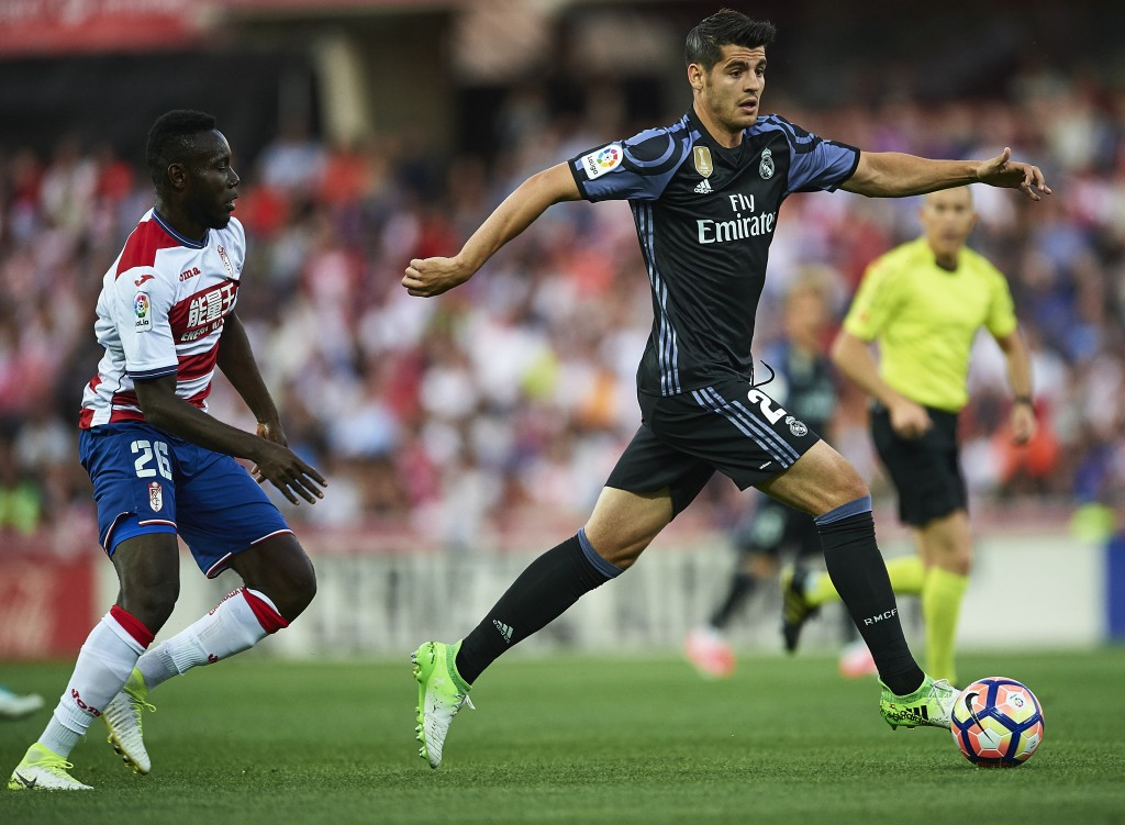 The battle for Morata is intensifying. (Photo courtesy - Aitor Alcalde/Getty Images)