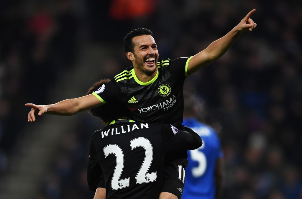 The resurgent Pedro has taken Willian's place at Chelsea. (Photo courtesy - Laurence Griffiths/Getty Images)