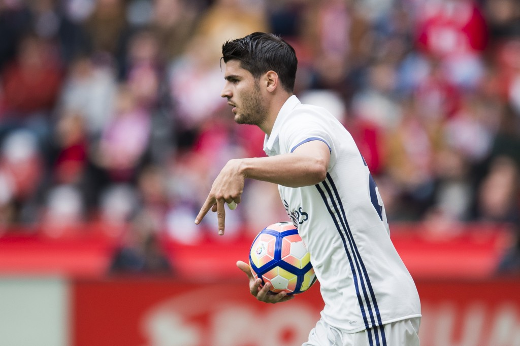 Morata's move to Chelsea is far from a certainty. (Photo courtesy - Juan Manuel Serrano Arce/Getty Images)
