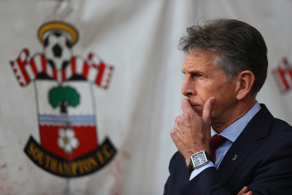 A lot to ponder over for Claude Puel. (Photo by Ian Walton/Getty Images)