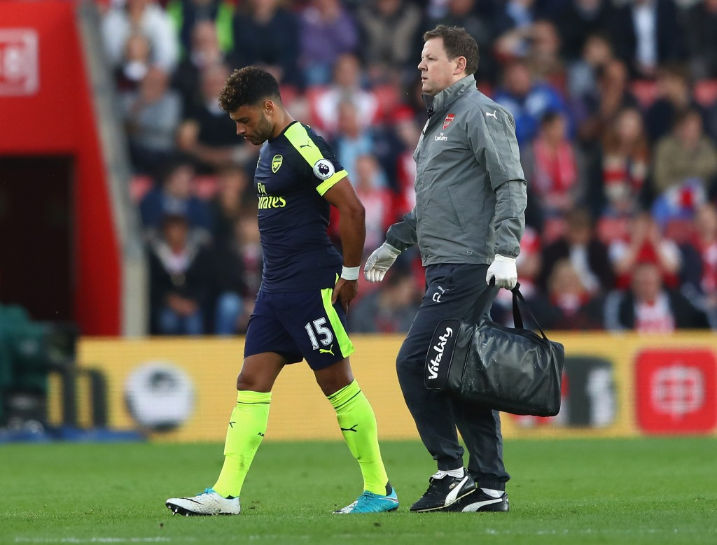 Did we see the last of Alex Oxlade-Chamberlain in an Arsenal shirt? (Photo courtesy - Michael Steele/Getty Images)