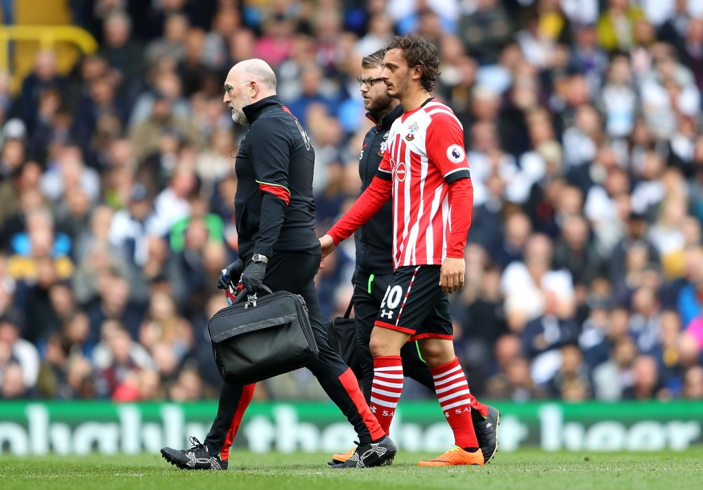 Gabbiadini hasn't looked the same following injury. (Photo courtesy - Warren Little/Getty Images)