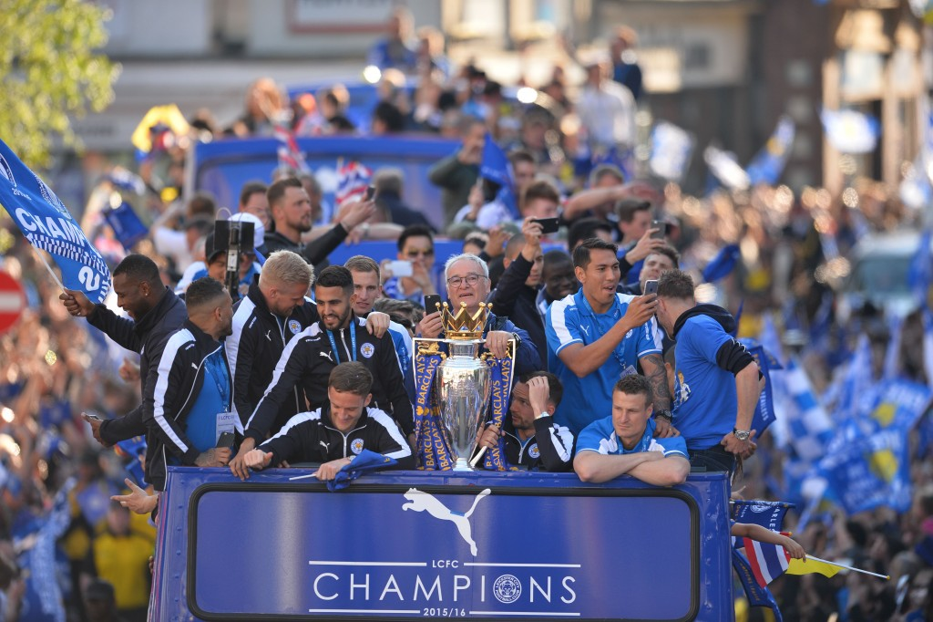 Imagine the payouts for people who tried their luck out on Leicester City winning the Premier League? (Picture Courtesy - AFP/Getty Images)