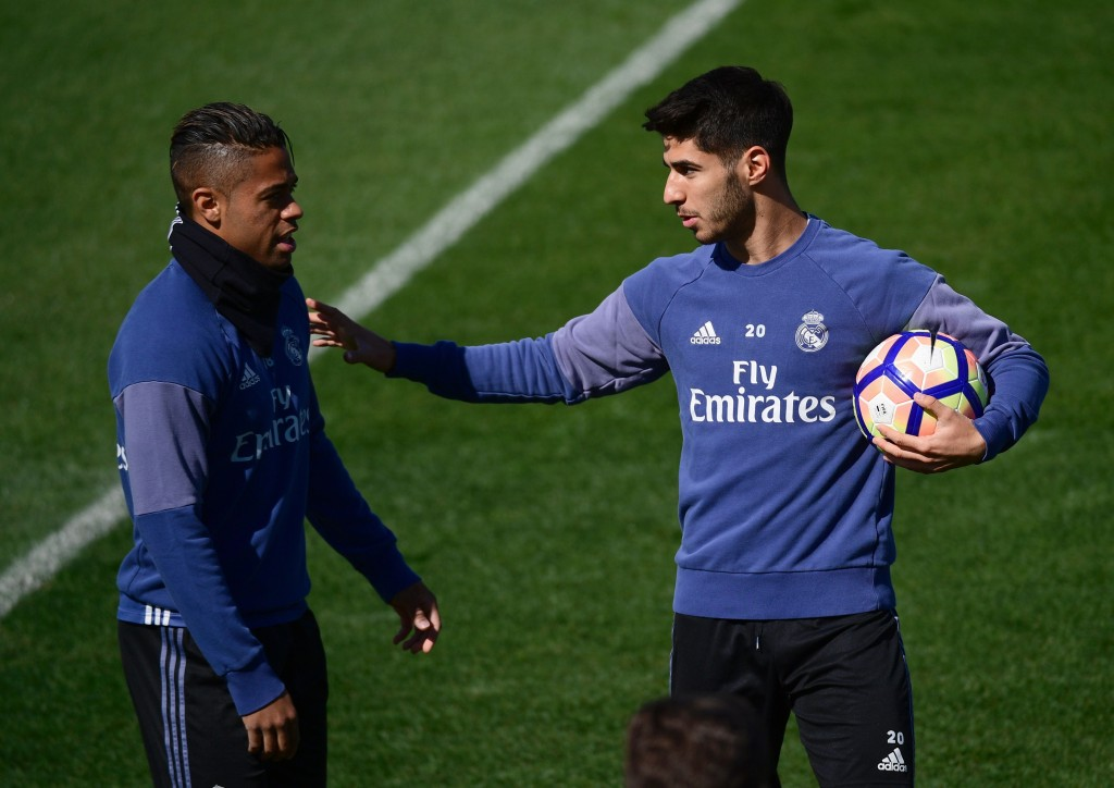 I'm not going anywhere, Mariano. (Photo courtesy - Pierre-Philippe Marcou/AFP/Getty Images)