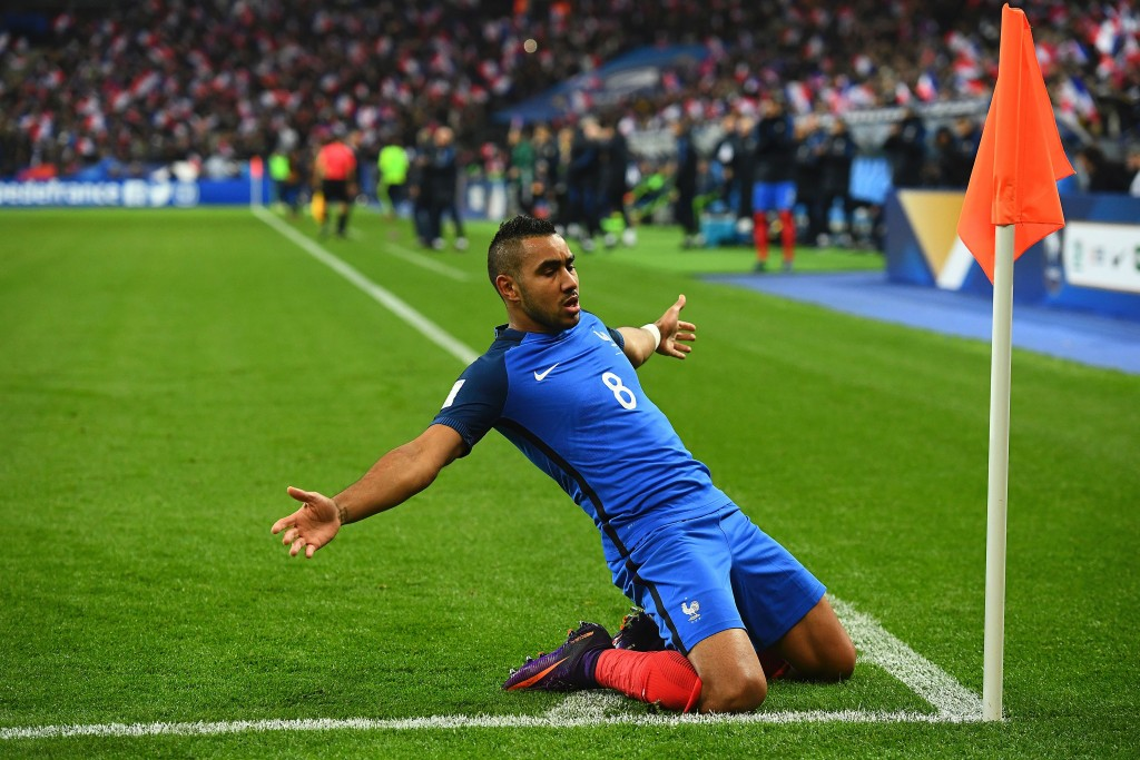 Dimitri Payet netted the winner for France in the reverse fixture. (Photo courtesy - Franck Fife/AFP/Getty Images)