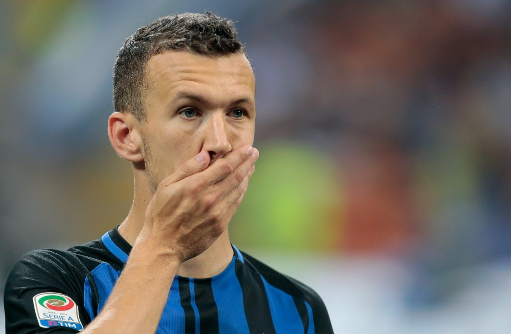 MILAN, ITALY - MAY 28: Ivan Perisic of FC Internazionale Milano looks on during the Serie A match between FC Internazionale and Udinese Calcio at Stadio Giuseppe Meazza on May 28, 2017 in Milan, Italy. (Photo by Emilio Andreoli/Getty Images)