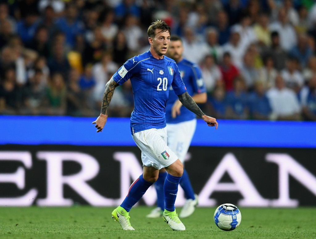 UDINE, ITALY - JUNE 11: Federico Bernardeschi of Italy in action during the FIFA 2018 World Cup Qualifier between Italy and Liechtenstein at Stadio Friuli on June 11, 2017 in Udine, Italy. (Photo by Claudio Villa/Getty Images)