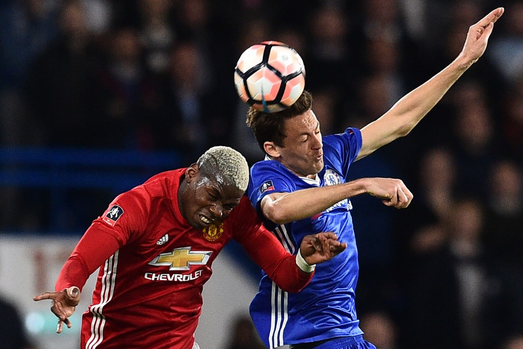 Matic and Pogba are unlikely to become teammates next season (Photo courtesy - Glyn Kirk/AFP/Getty Images)
