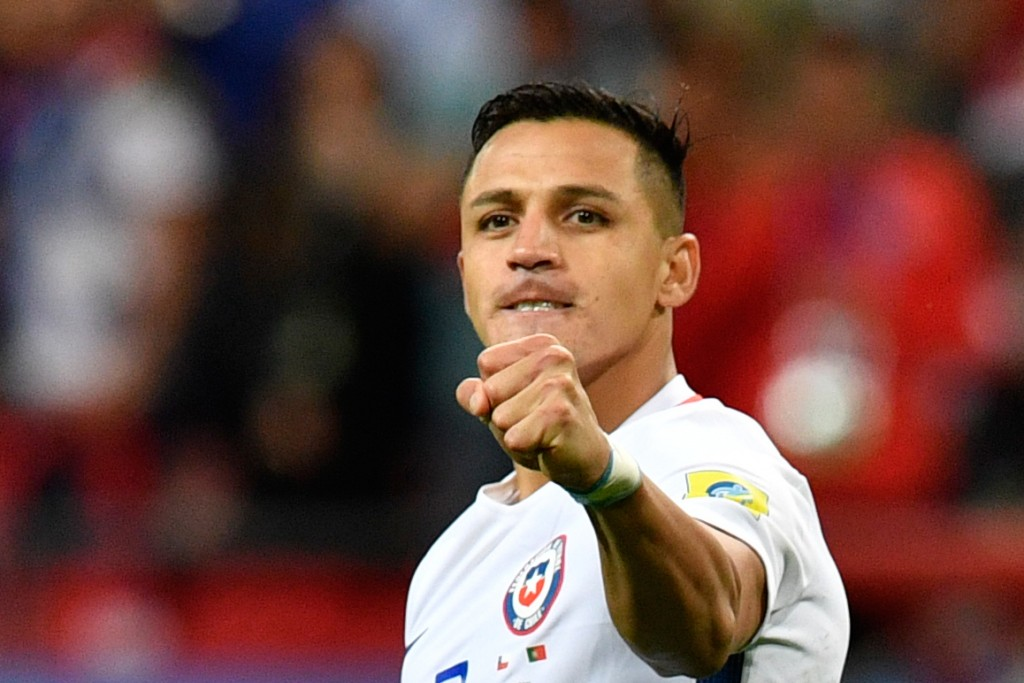 Will Sanchez don the whites of Real Madrid next season? (Photo courtesy - Alexander Nemenov/AFP/Getty Images)