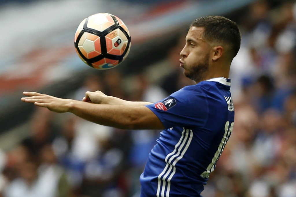 Will Hazard remain at Chelsea? (Photo courtesy - Ian Kington/AFP/Getty Images)