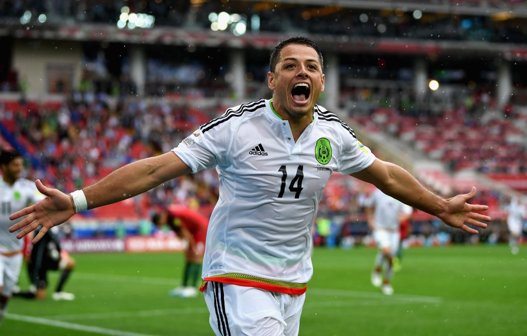 Mexico's star man (Photo by Laurence Griffiths/Getty Images)