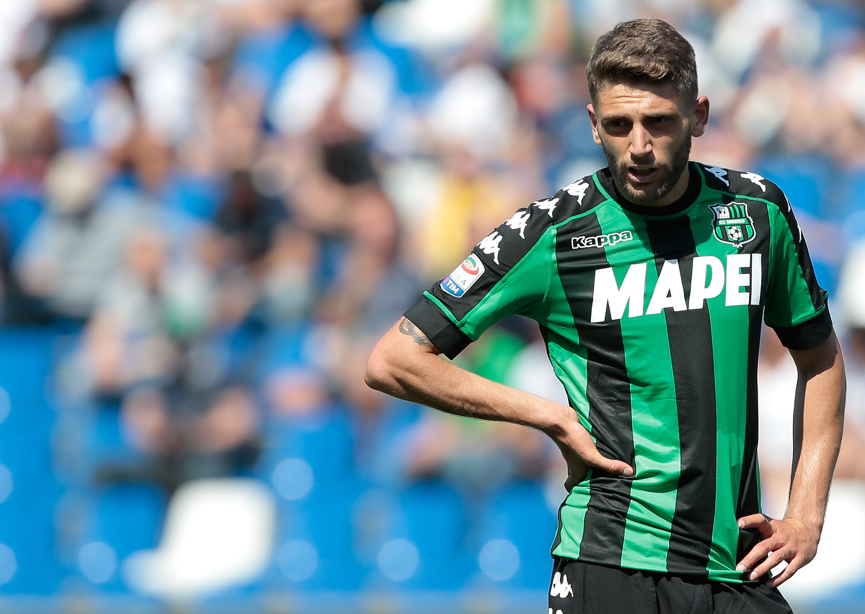Berardi on Liverpool's radar (Photo by Emilio Andreoli/Getty Images)