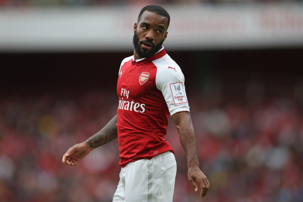 All eyes will be on Lacazette yet again. (Photo courtesy - Steve Bardens/Getty Images)