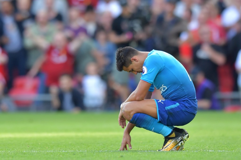 A defeated figure. (Photo courtesy - Anthony Devlin/AFP/Getty Images)