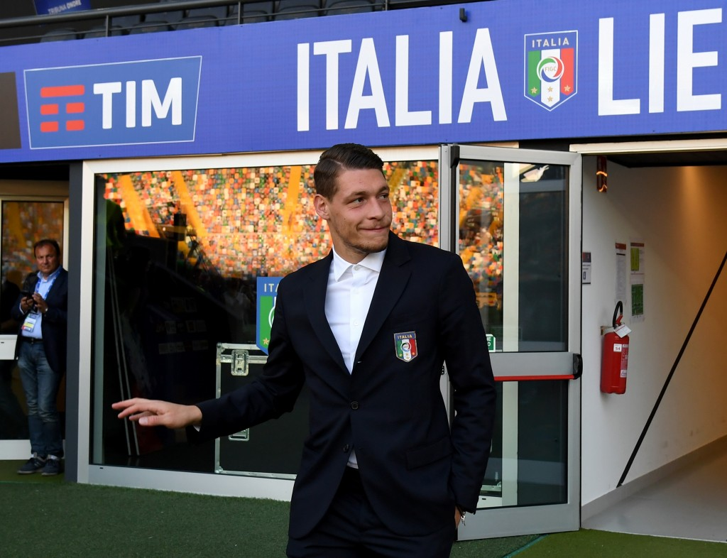 Andrea Belotti misses out for Italy with an injury. (Photo by Claudio Villa/Getty Images)