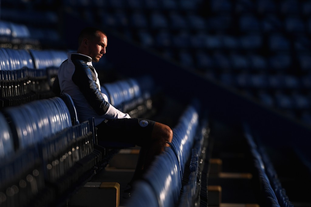 LEICESTER, ENGLAND - AUGUST 04: Danny Drinkwater looks on before the preseason friendly match between Leicester City and Borussia Moenchengladbach at The King Power Stadium on August 4, 2017 in Leicester, United Kingdom. (Photo by Michael Regan/Getty Images)