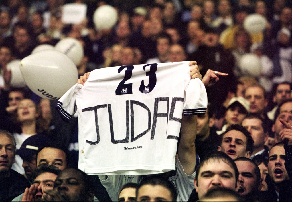 Another Judas who is number one? (Photo courtesy - Ben Radford/Allsport)