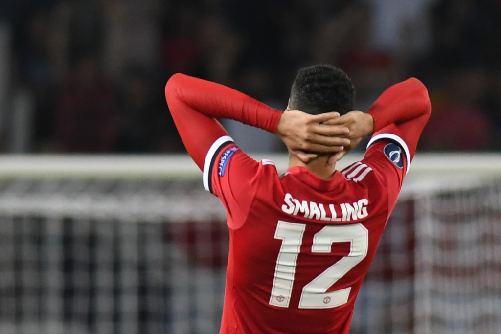 Will Smalling make his chance count? (Photo courtesy - Robert Atanasovski/AFP/Getty Images)