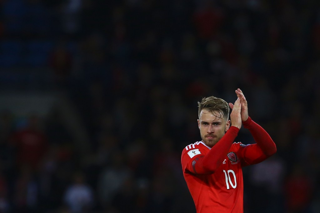 Ramsey has been one of the key men for Wales in the last few years. (Photo courtesy - Geoff Caddick/AFP/Getty Images)