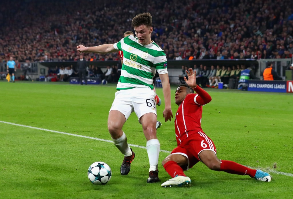 Chris Sutton and Frank McAvennie react to Celtic defeat to Bayern