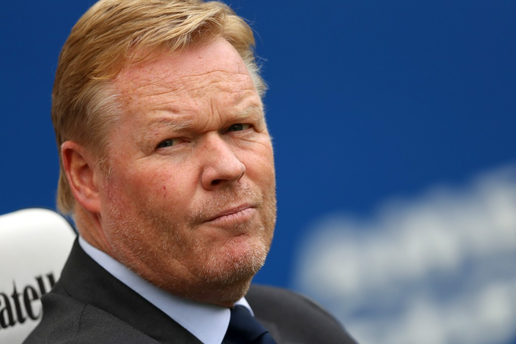 Koeman, Ronald! (Picture Courtesy - AFP/Getty Images)