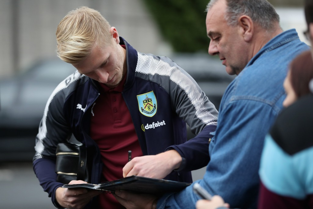 Ben Mee remains unavailable for Burnley. (Photo by Ian MacNicol/Getty Images)