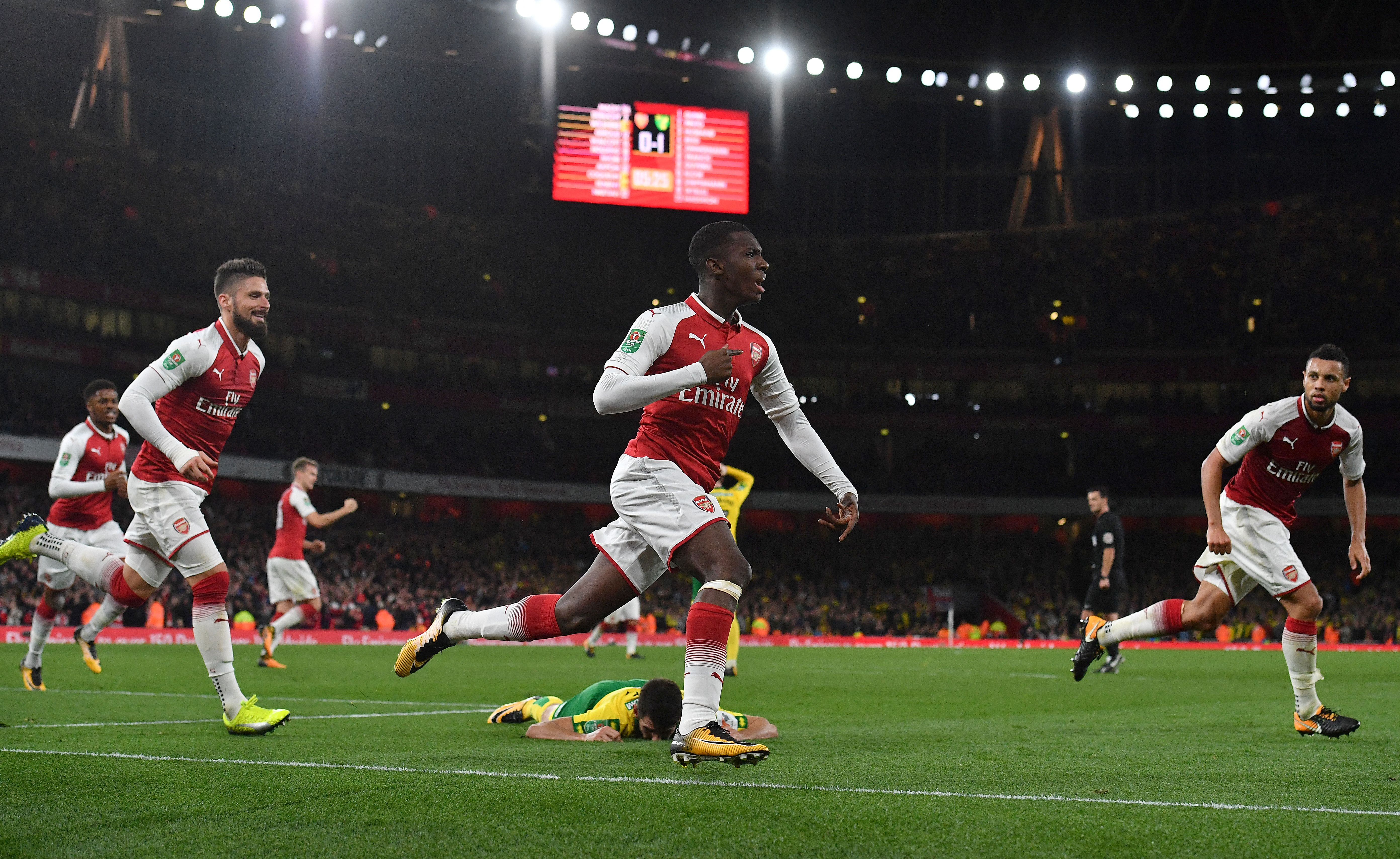Crystal Palace have ended their pursuit of Eddie Nketiah who looks set to remain at Arsenal this summer