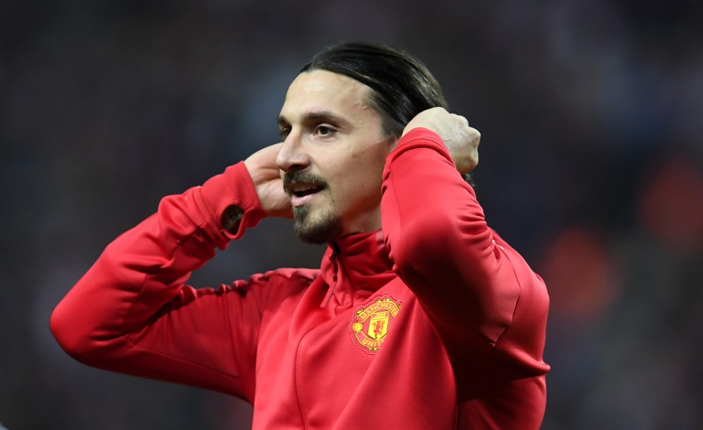 Zlatan waits in the wings and will be ready soon. (Picture Courtesy - AFP/Getty Images)
