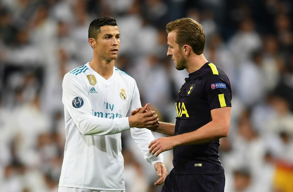 Could Ronaldo and Kane link up at Juventus next season? (Photo by Laurence Griffiths/Getty Images)