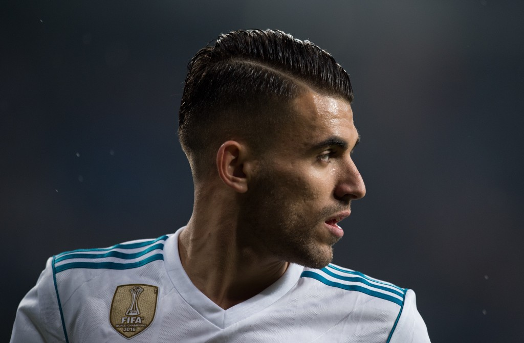 MADRID, SPAIN - NOVEMBER 28: Daniel Ceballos of Real Madrid CF looks on during the Copa del Rey, Round of 32, Second Leg match between Real Madrid and Fuenlabrada at Estadio Santiago Bernabeu on November 28, 2017 in Madrid, Spain. (Photo by Denis Doyle/Getty Images)