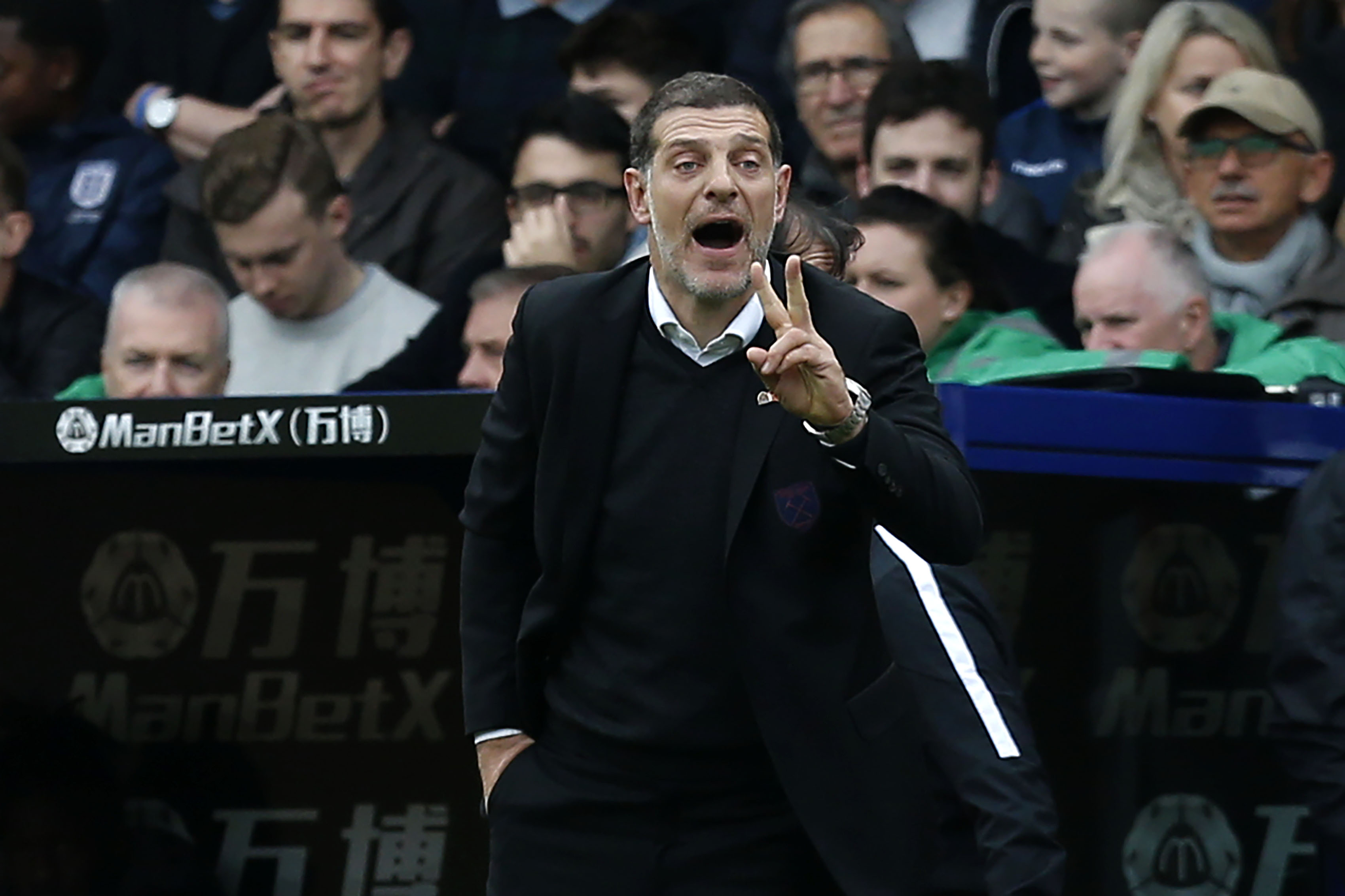 Slaven Bilic took over the reins at West Brom in June last year (Picture Courtesy - AFP/Getty Images)