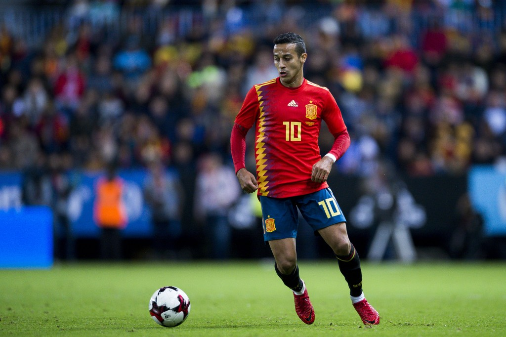 Julen's relationship with Thiago could pave the way for a Real Madrid move. (Picture Courtesy - AFP/Getty Images)
