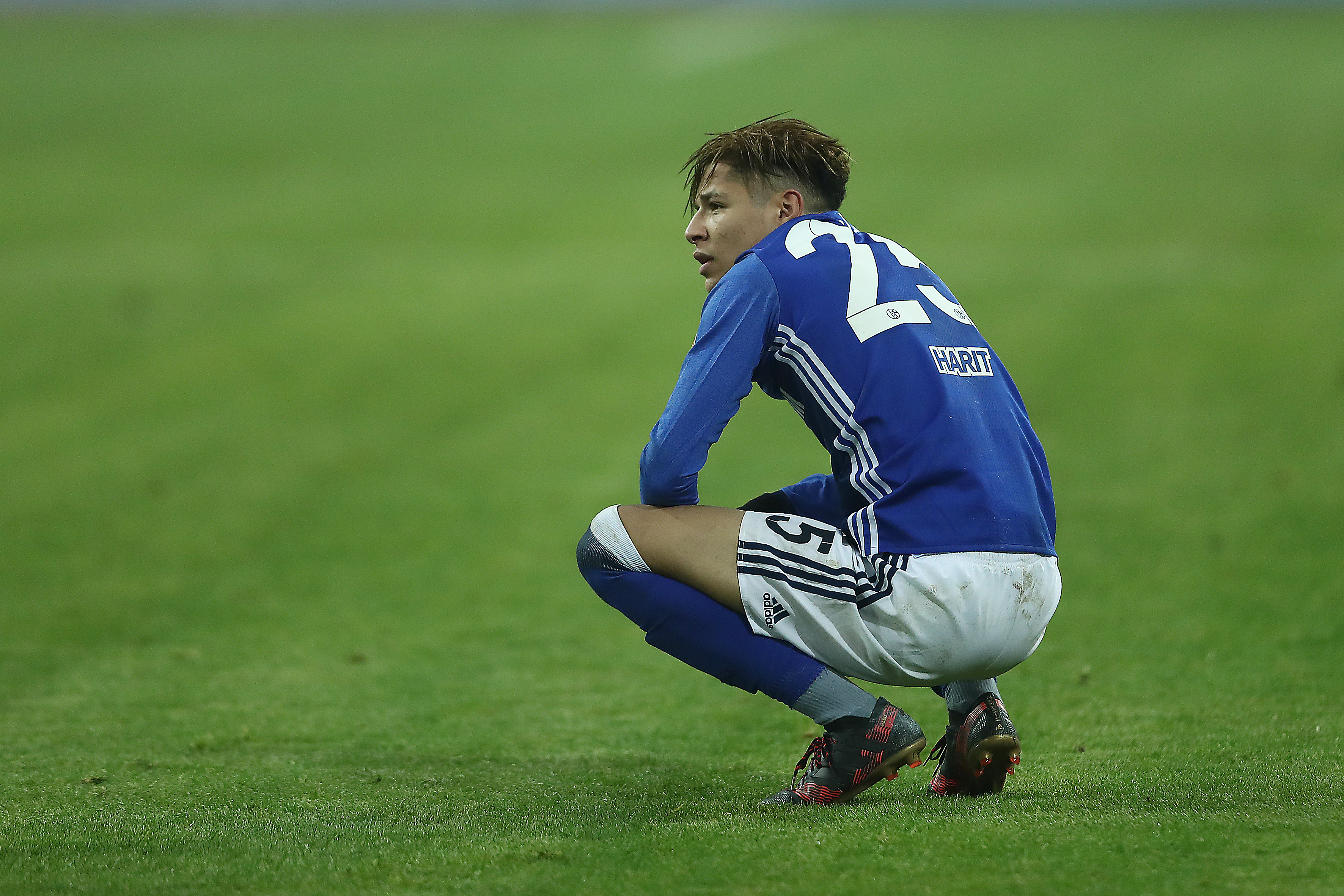 No Harit tomorrow. (Photo by Christof Koepsel/Bongarts/Getty Images)