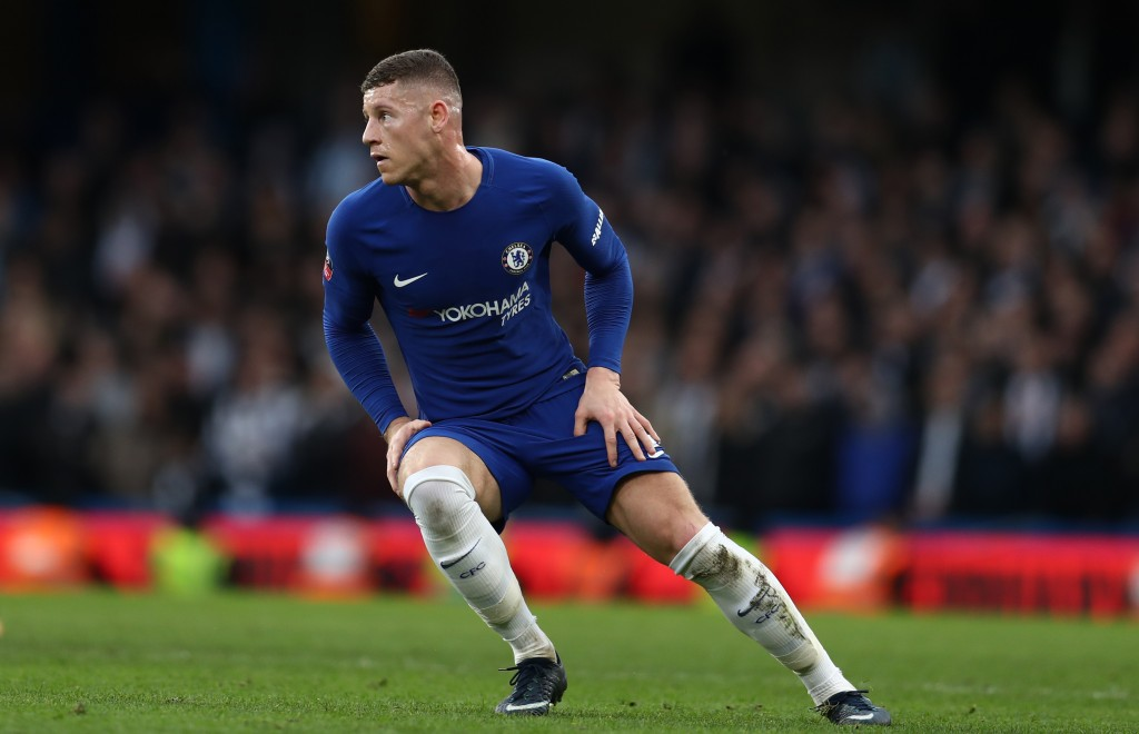 LONDON, ENGLAND - JANUARY 28: Ross Barkley of Chelsea during the Emirates FA Cup Fourth Round match between Chelsea and Newcastle United on January 28, 2018 in London, United Kingdom. (Photo by Catherine Ivill/Getty Images)